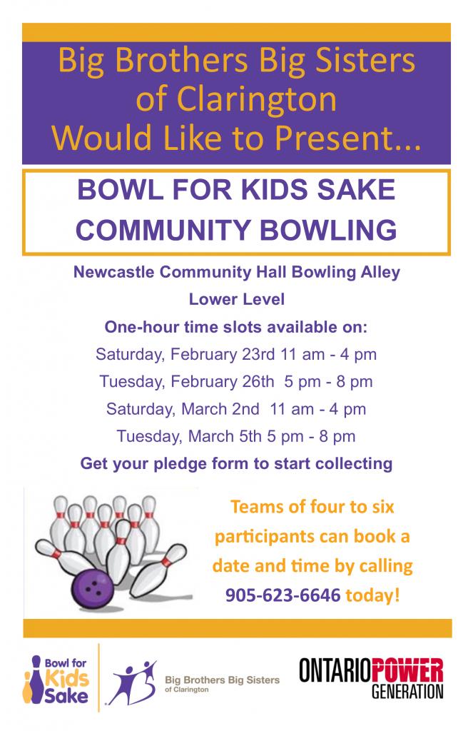 Bowl for Kids Sake 2019 - Big Brothers Big Sisters of Clarington